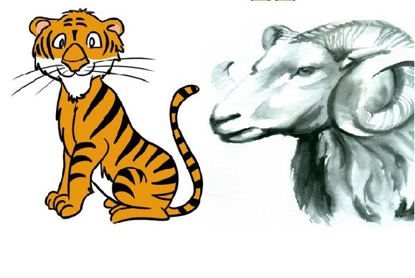 Dần và Mùi cặp đôi con giáp hợp tuổi có số mệnh phu thê