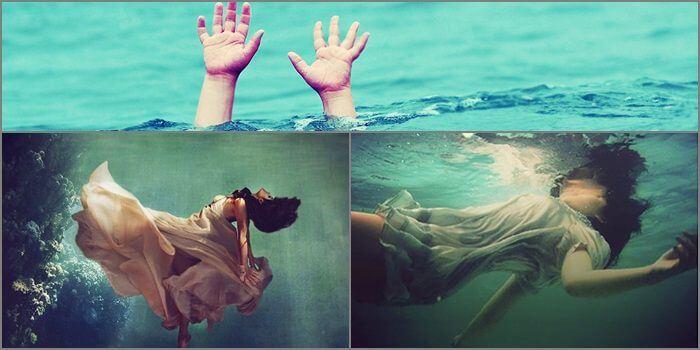 nằm mơ thấy xác chết trôi sông