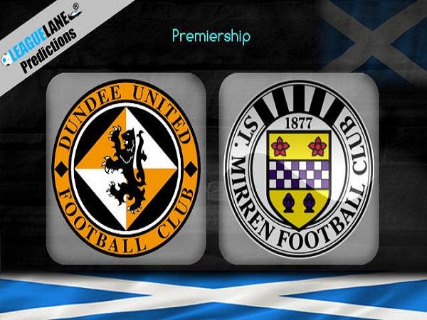 Dự đoán Dundee Utd vs St Mirren, 1h45 ngày 24/05