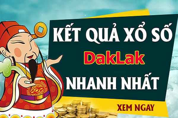 Soi cầu XS Daklak chính xác thứ 3 ngày 23/07/2019