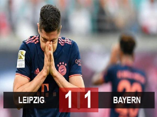 Leipzig 1-1 Bayern: Hùm xám vẫn chỉ giành 1 điểm