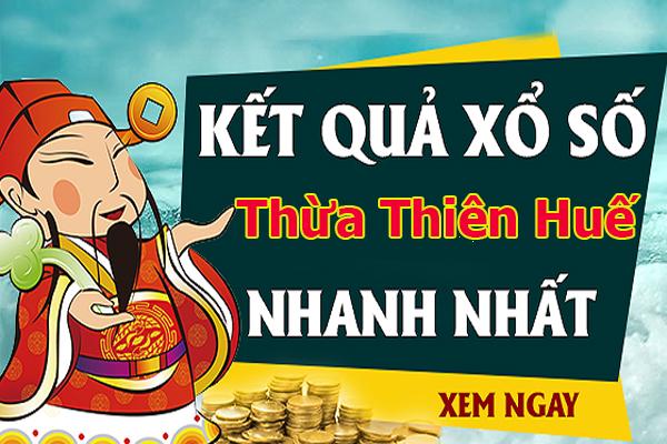 Soi cầu XS Thừa Thiên Huế chính xác thứ 2 ngày 30/09/2019