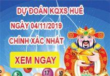 Soi cầu Thừa Thiên Huế ngày 04/11 tỷ lệ trúng cao