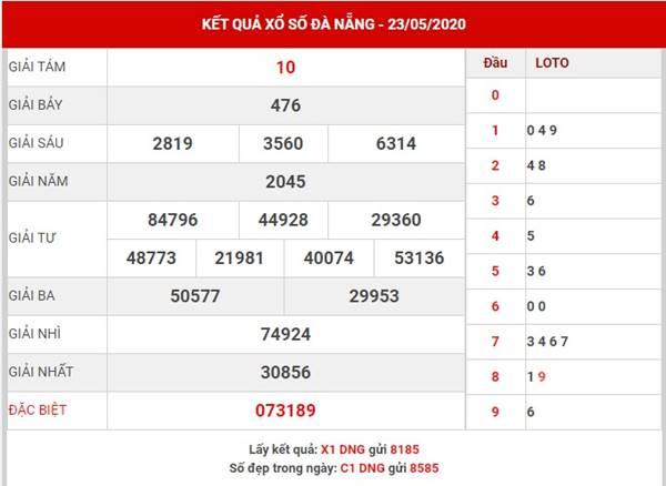 Thống kê sổ số Đà Nẵng thứ 4 ngày 27-5-2020
