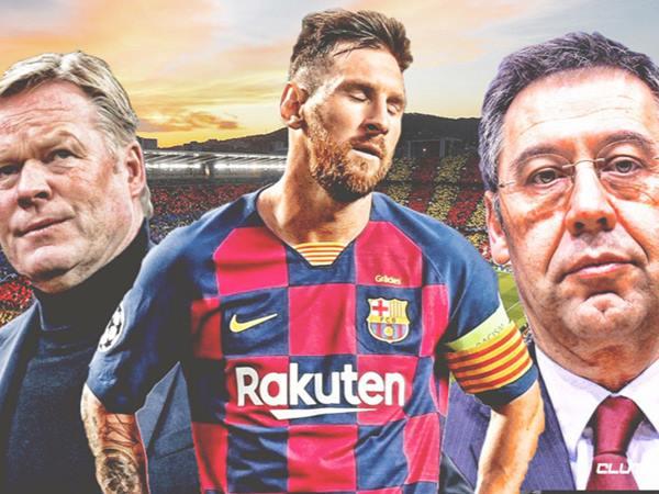 Lý do Barca muốn Lionel Messi ra đi ngay lập tức