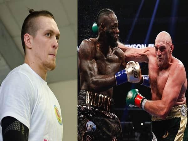 Tyson Fury ngầm thách đấuOleksandr Usyk