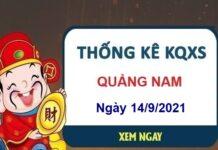 Thống kê xổ số Quảng Nam ngày 14/9/2021