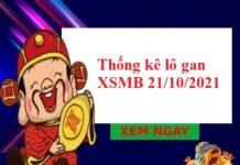 Thống kê lô gan KQXSMB 21/10/2021